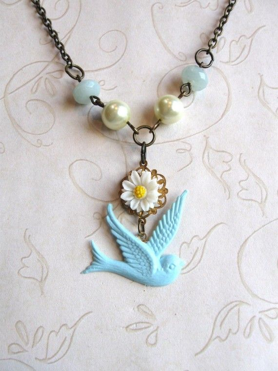 blue bird of happiness.....for a wedding day...
