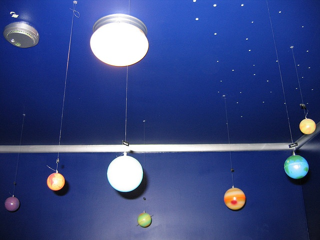 solar system ceiling  Home is where the whimsy is  Pinterest