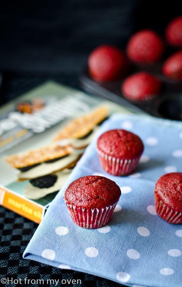 ... Day special..A skinny version of the Classic Red Velvet Cupcake