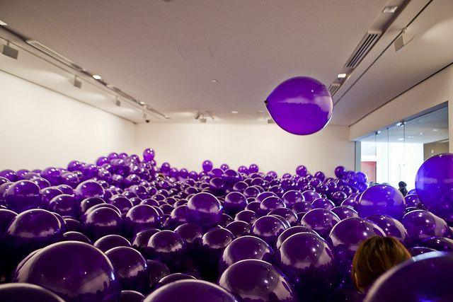 Room Filled Balloons Paint