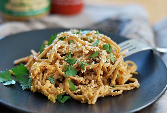 Garlic Peanut Soba Noodles | Recipes | Pinterest