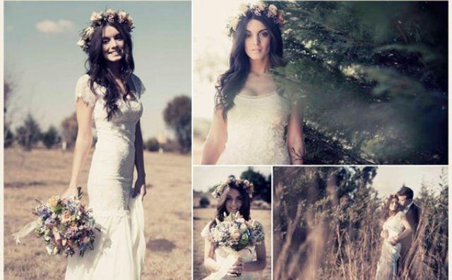 Hippie Brautkleid  Braut  Pinterest