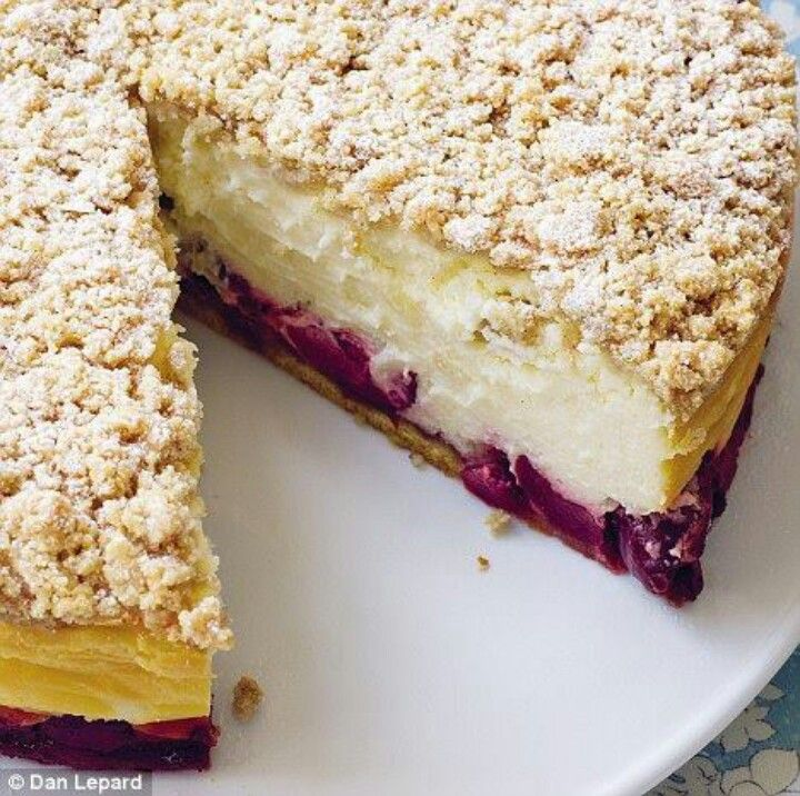 cherry crumble | Recipes | Pinterest