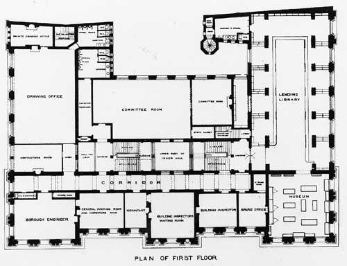 first floor plan townhall leeds historical interiors file cambridge massachusetts city hall elevation and