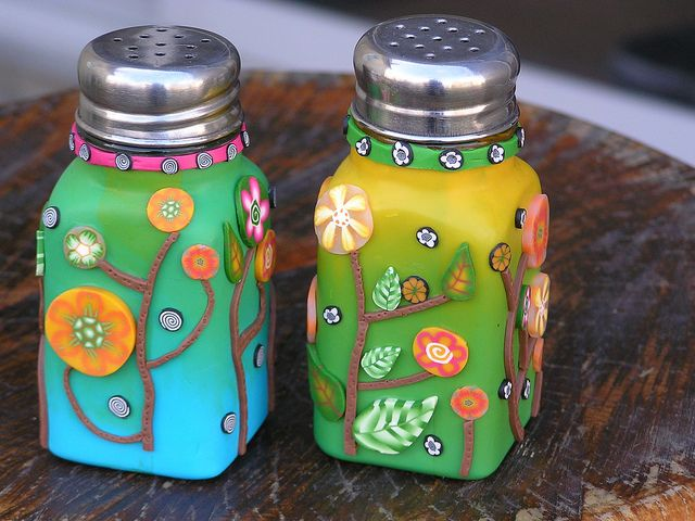 polymer clay salt and pepper