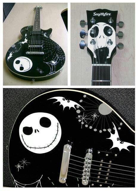 Nightmare before christmas guitar | Disnerd! | Pinterest