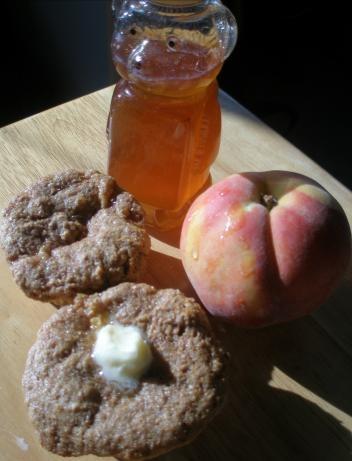 Honey Peach Bran Muffins | Recipe