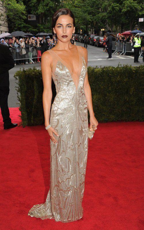Camilla Belle in Ralph Lauren #GalaMet2012