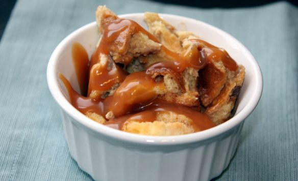 Salted caramel banana bread pudding. | Recipes to try | Pinterest