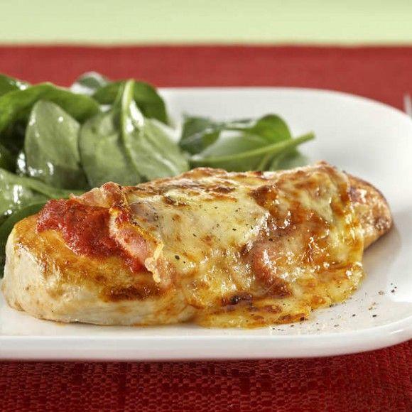 Baked Chicken with Pancetta | Menu planning | Pinterest