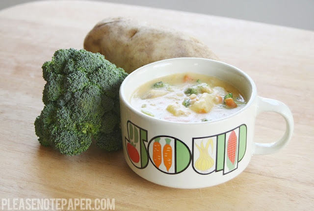 Potato Cheese Chowder | I Tried This | Pinterest