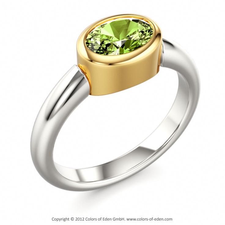 peridot engagement ring bad