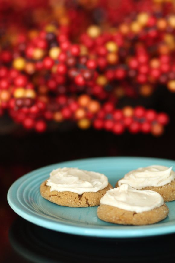 Brown Butter Ginger Cookies With Mascarpone Cream Recipes — Dishmaps