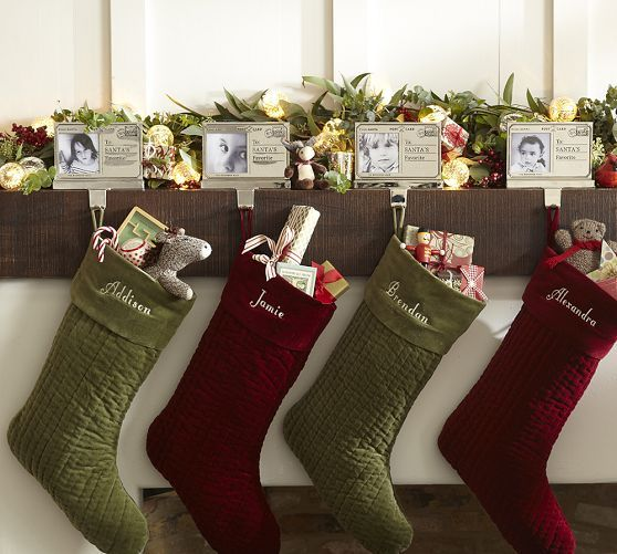 Pottery barn stockings christmas pinterest