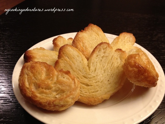 Palmiers - Also called Elephant Ears | Breakfast in Bed(Stuy): advent ...