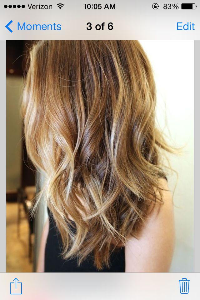 dirty blonde w highlights | B E A U T Y | Pinterest