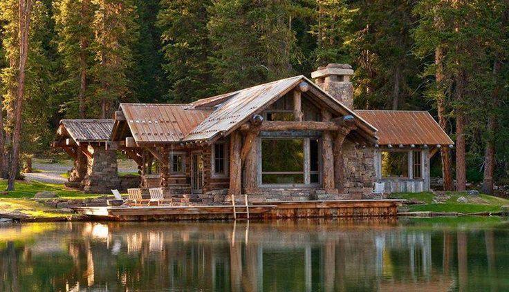 Beautiful Log Cabin Log Homes Pinterest