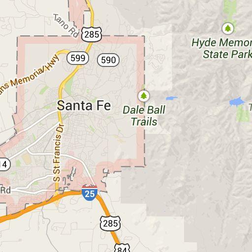 Excellent Us Map Santa Fe Swimnovacom - Us map santa fe