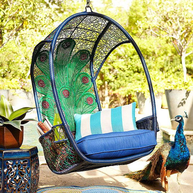 Love this for the porch, patio, or backyard garden. Gorg!