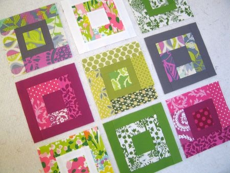 Paintbox quilt from Oh, Fransson!  blog