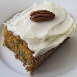 Healthier Carrot Cake III Allrecipes.com | Recipes | Pinterest