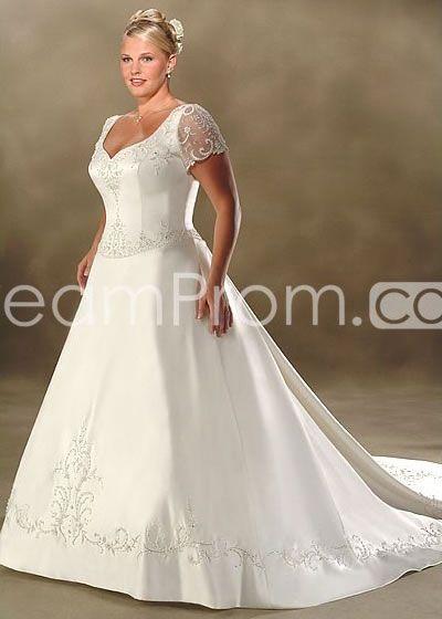 plus size wedding dress full figured wedding dresses pinterest