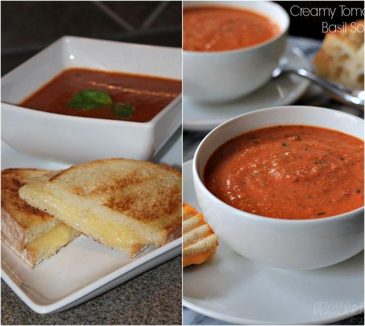 Creamy Tomato Basil Soup | Recipe