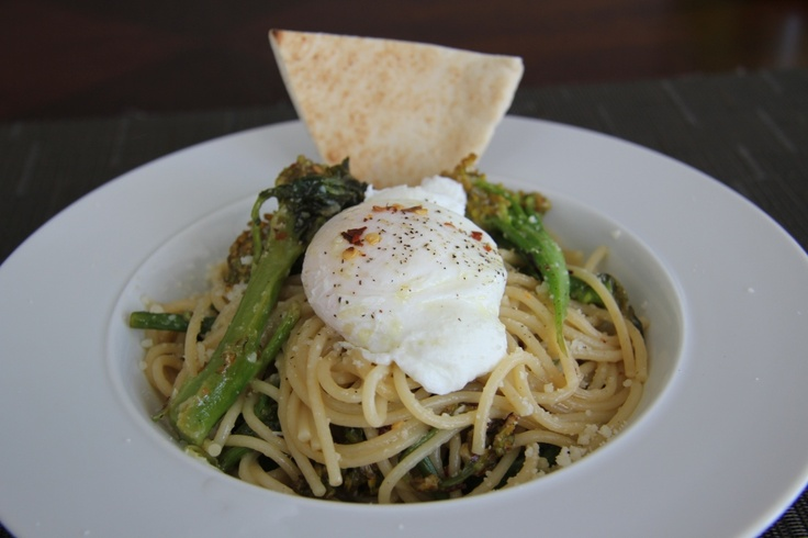 pasta. Stir fry the brocollini in 1/3 cup olive oil and add 1/2 cup ...