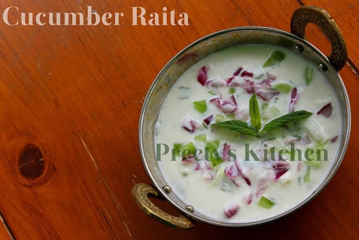 Refreshing Cucumber Raita Recipe | Pattys favorite Dips | Pinterest