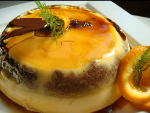 Tarta Flan de Naranja (Orange Flan Cake) | Nutrition | Pinterest