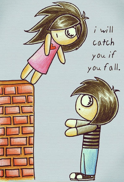 I Will Catch You If You Fall Quotes. QuotesGram