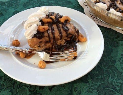 "Non Dairy Ice Cream Sundae Pie ""An incredibly delicious ice cream pie ..."