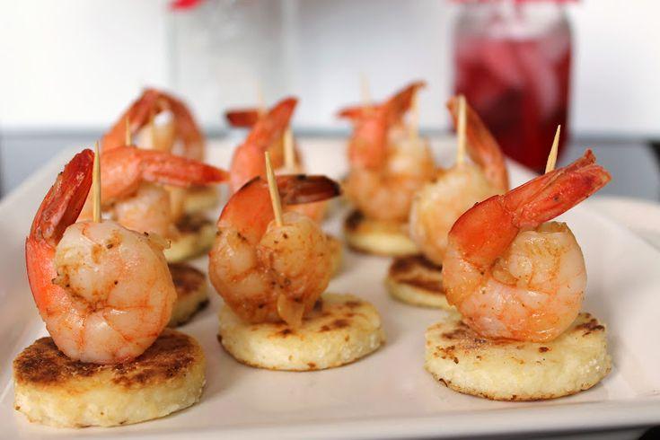 Shrimp & Grits Bites | Recipes - Appetizers: Savory | Pinterest