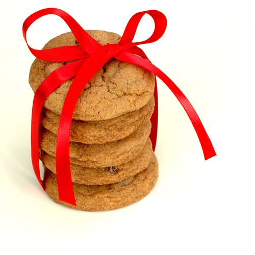 Ginger Chocolate Chip Cookies | Christmas | Pinterest