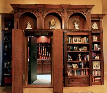 Walk In Hidden Gun Room Safe Rod And Gun Club Pinterest