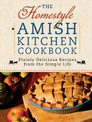vintage cookbook AMISH COOKING 1977