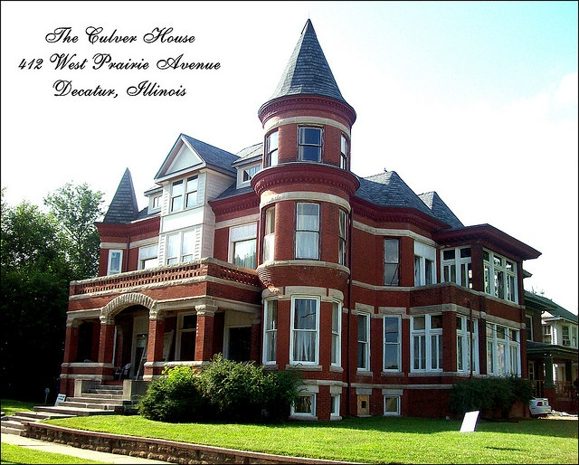 Culver house decatur illinois plantation for Housse illinois