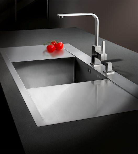 This beautiful sink from our Blanco Flow Collection.