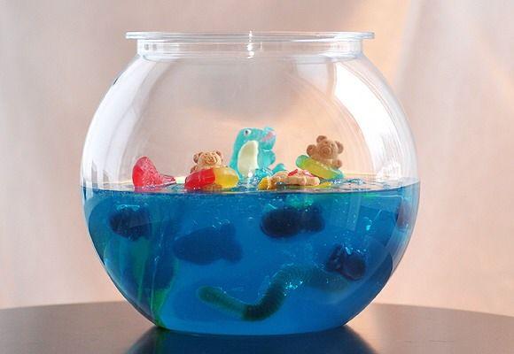 Fun Jello Fish Bowl   4 my lil guys   Pinterest