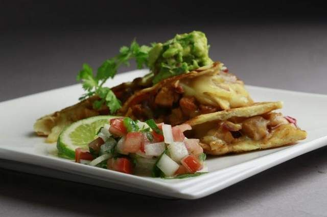 Free Press Top Tables recipe: Hickory Smoked Chicken Quesadillas from ...