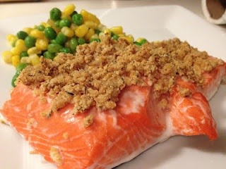 Easy Crunchy Mustard-Baked Salmon | Whats Cooking Good Looking? | Pin ...