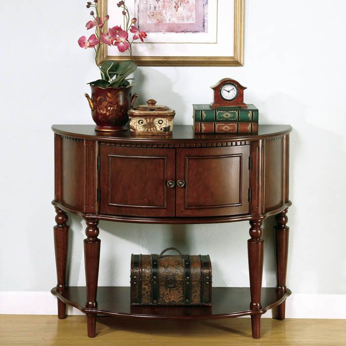 2 Drawer Curved Entry Table by Coaster Furniture