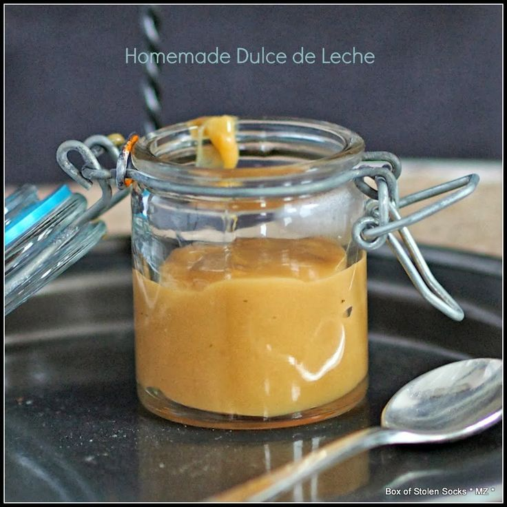 Homemade Dulce de Leche | Recipes: Sauces, Dips, Toppings, & Dressing ...