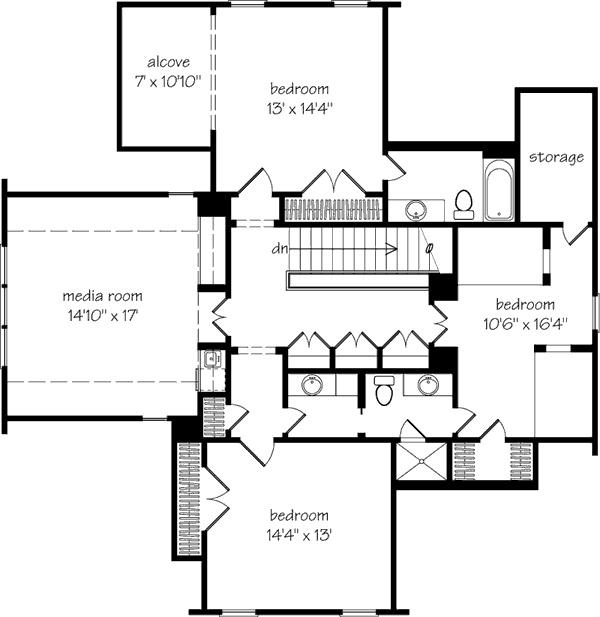Tucker bayou southern living idea house home design for Bayou cottage house plan