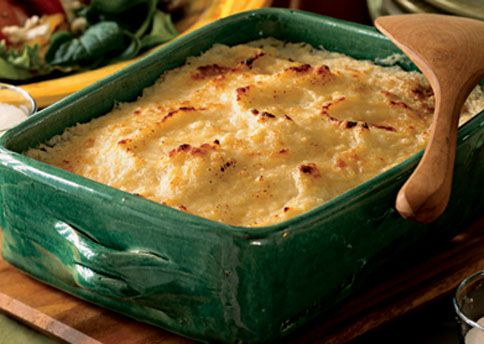 Mashed Potato and Turnip Gratin (more uses for Turnips)