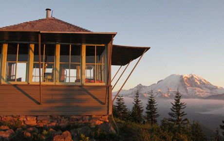 Pin By On Fire Lookout Cabins Pinterest