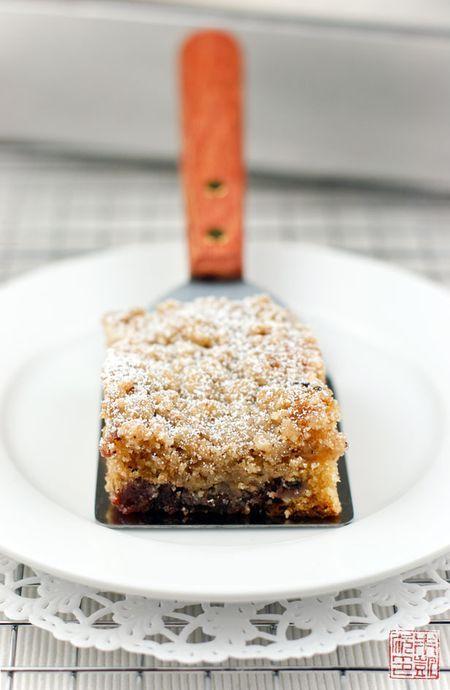 Raspberry Cocoa Nib Coffee Cake with Hazelnut Streusel — Warm this ...