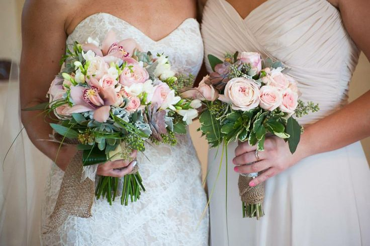 Bride And Maid Of Honor Bouquets