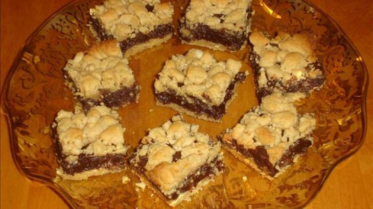 Peanut Butter Fudge Bars | Food: The Way to My Heart | Pinterest