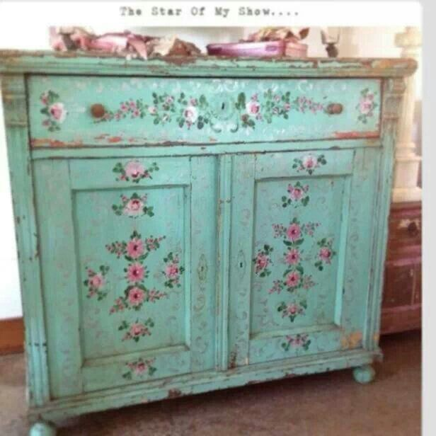 Pinterest repainted furniture just b cause for Painting over lead paint on furniture